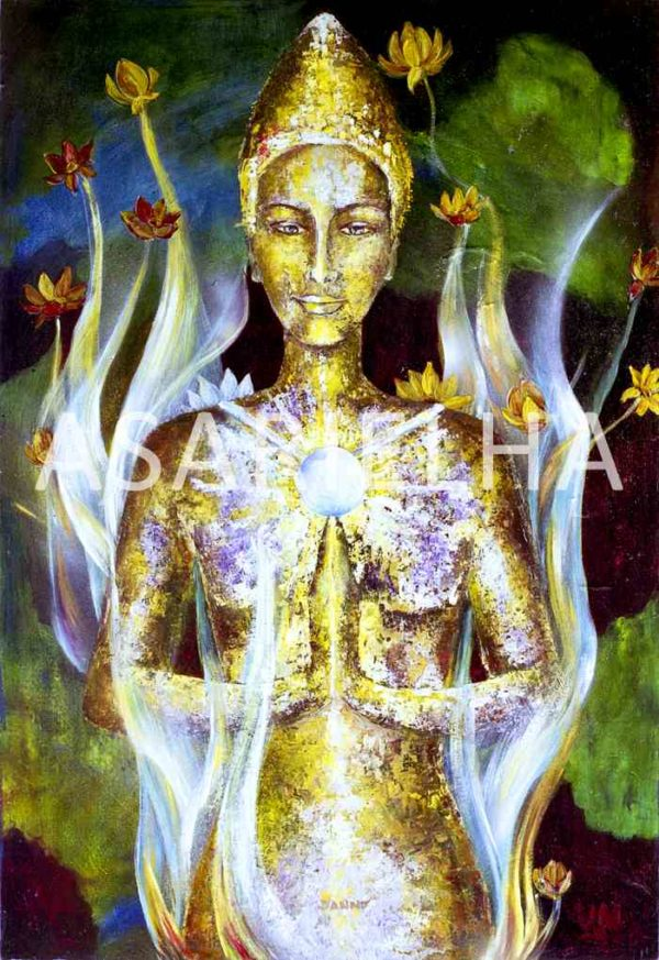 Deesse-Bouddha Kwan Yin