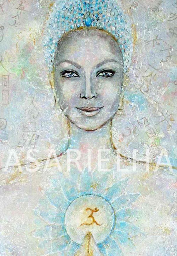 Deesse-Bouddha Amour Universel gros plan