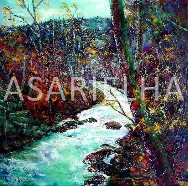 Chant d'automne - Huile sur toile