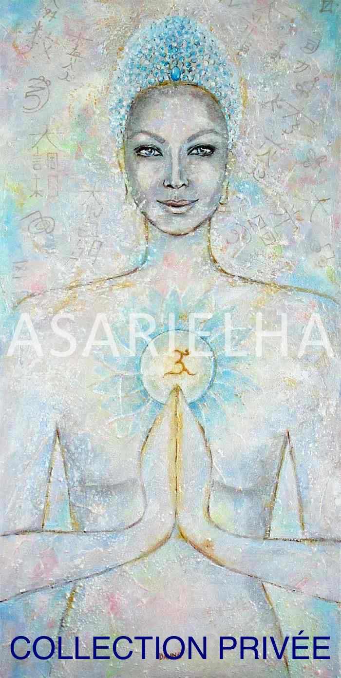 Déesse-Bouddha Amour Universel - Collection Privée