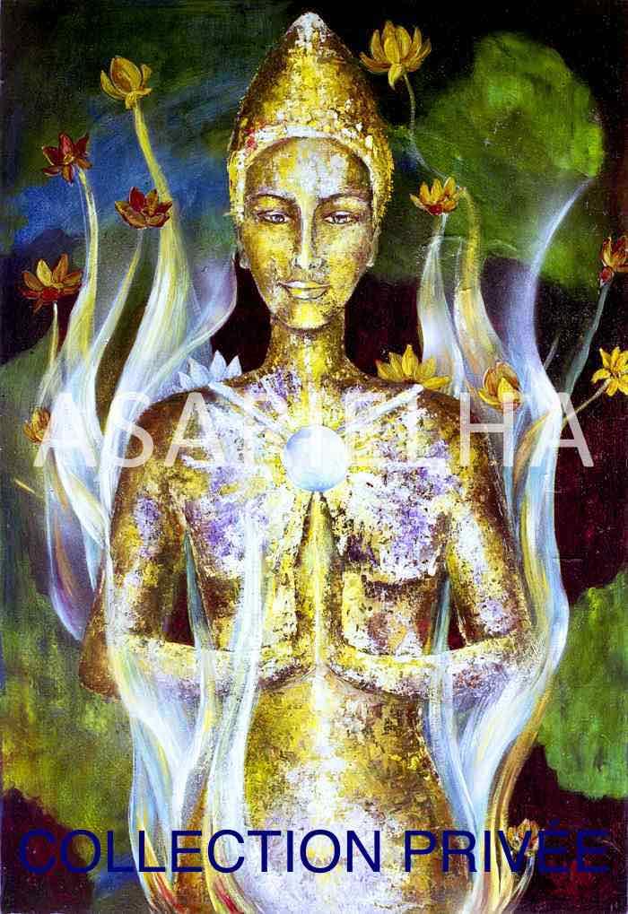 Déesse-Bouddha Kwan Yin - Collection Privée
