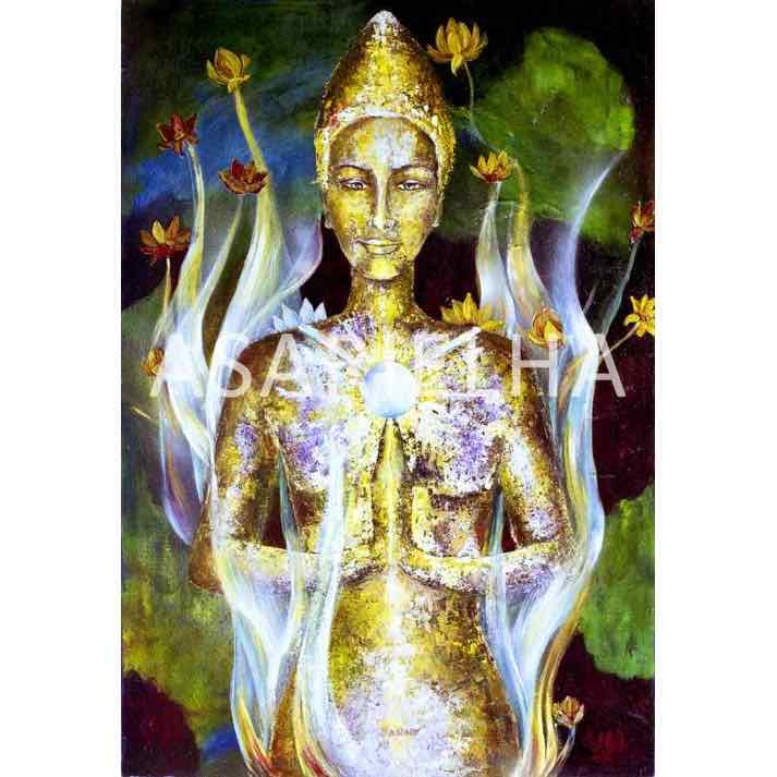 Déesse-Bouddha Kwan Yin
