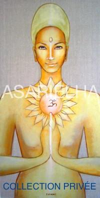 Déesse-Bouddha Unité - Collection privée